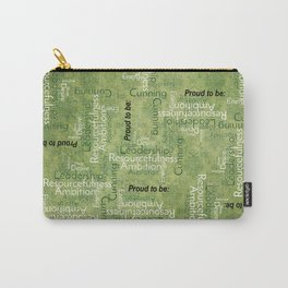 """Proud to be """"S"""" Carry-All Pouch"""