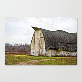Wisconsin Old Barn 1 Canvas Print