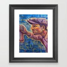 Blue Serenity 2nd half Framed Art Print