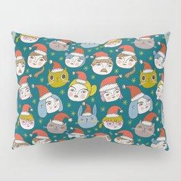Pattern Project #50 / Little Santas Pillow Sham