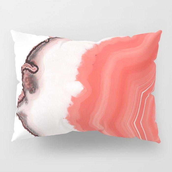 Living Coral Agate Pillow Sham