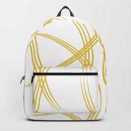 Golden Flow Backpack
