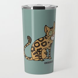 Cat - Bengal cat Travel Mug