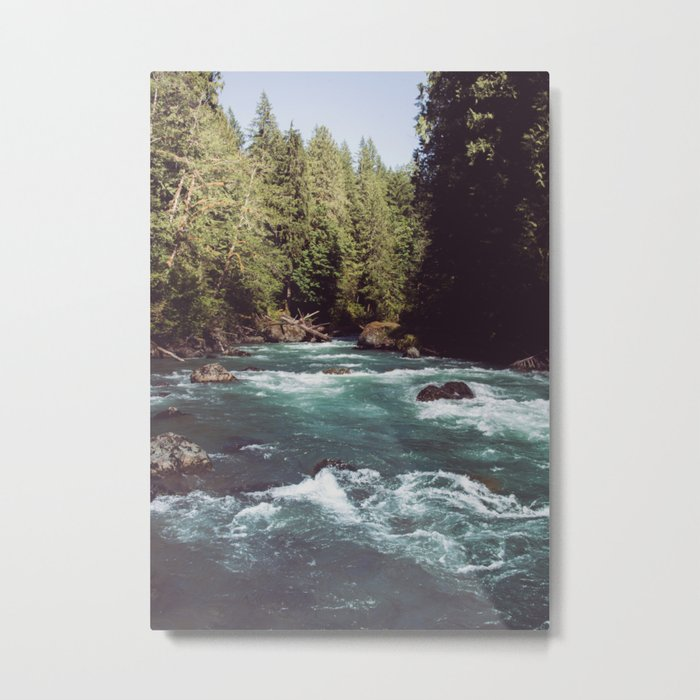 Pacific Northwest Wilderness Metal Print