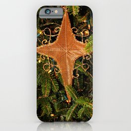 Nativity Star iPhone Case