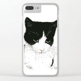 Curie Clear iPhone Case
