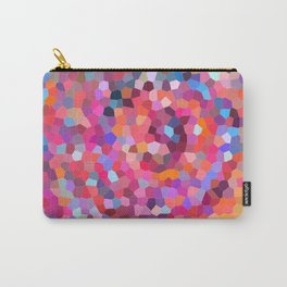 Geometric Abstract Spiral Carry-All Pouch