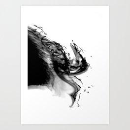 Abstract Ink Art Print