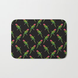 Parrot Pattern Bath Mat