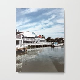 Dock of the Bay, South Carolina Metal Print