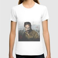 rick grimes T-shirts featuring Walking Dead -Rick Grimes by NorthLight