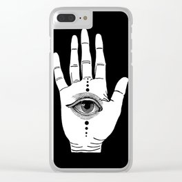 Hamsa Horus Clear iPhone Case