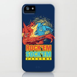 Rock'em Sock'em Jaegers iPhone Case
