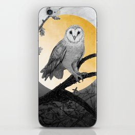 Golden Owl iPhone Skin
