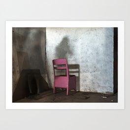Impasse - Chair Art Print
