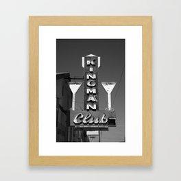 Route 66 - Kingman Club 2012 Framed Art Print