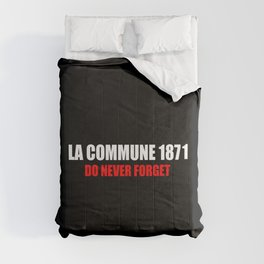 Commemoration La commune 1871 Comforters