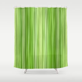 Green 3 Shower Curtain