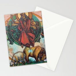 Christ the King (Lion grazing w/ Lamb Stationery Cards