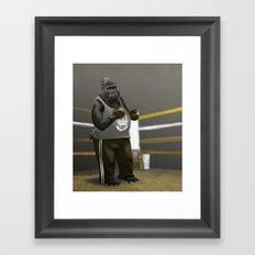 Old School Champion 2 Framed Art Print