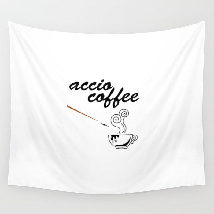 ACCIO COFFEE Wall Tapestry