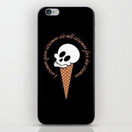 I Scream Cone iPhone Skin