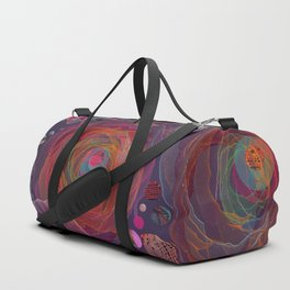 Floral abstract 53 Duffle Bag