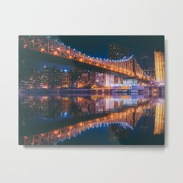 An Evening Like This - New York City Metal Print