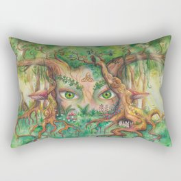 FOREST NYMPH Rectangular Pillow