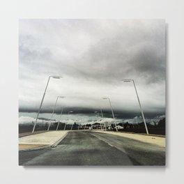 Road ahead. Metal Print