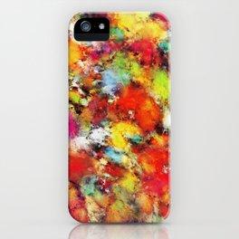 Big colour storm iPhone Case