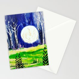 Serene Night Stationery Cards