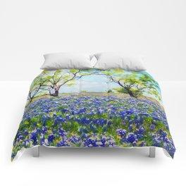 Bluebonnet Texas Comforters
