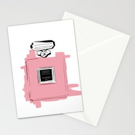 Pink perfume #6 Stationery Cards