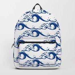Blue Tsunami Backpack