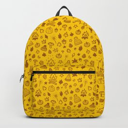 Autumn Doodles Backpack