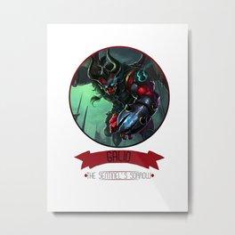 League Of Legends - Galio Metal Print