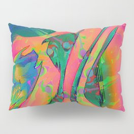 Psychedelic sketch Pillow Sham