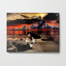Burn the Sky Metal Print