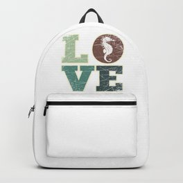 Love Seahorse Backpack