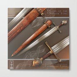 Sword of the Seraphim Song Metal Print