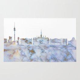 Vienna Austria Skyline Rug