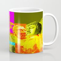rushmore Mugs featuring Mountain Rushmore  by Latidra Washington