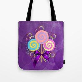 Purple Lollypop Dreams Tote Bag