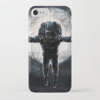 lunar iPhone & iPod Cases featuring Lunar Figure  by Steve Panton