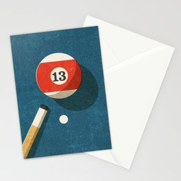 BILLIARDS / Ball 13 Stationery Cards