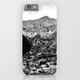 Black & White Italy iPhone Case