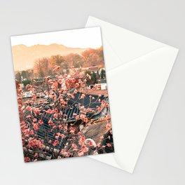 Seoul Rooftops - Bukchon Hanok Village, Korea Stationery Cards
