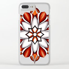 Mandala 10 Clear iPhone Case