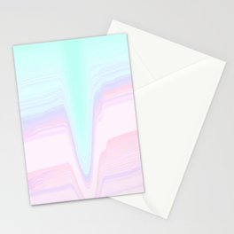 Pink Mountain Creek Stationery Cards